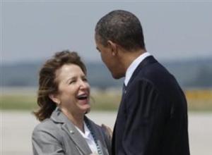 Barack Obama, Kay Hagan