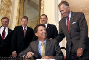 Constitutional amendment could extend McCrory's term in office to 2018.